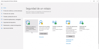 Desactivar Antivirus por Defecto en Windows 10