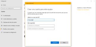 Como crear cuentas de Usuario adicionales en Windows 10