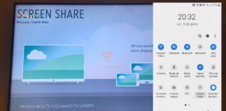 Duplica la pantalla de tu móvil Android en tu Televisión LG Smart TV WebOS con Screen Share