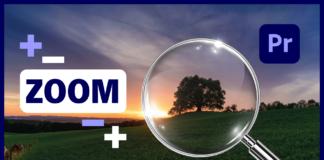 Cómo poner Zoom con Movimiento Suave en Adobe Premiere Pro - Zoom In y Zoom Out