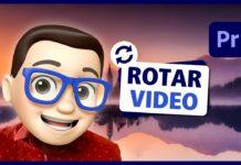 Cómo Rotar o girar un Vídeo o Imagen en Adobe Premiere Pro