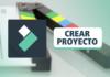 Crear un Proyecto en Filmora 🎬