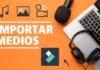 Importar y Organizar Multimedia en Filmora