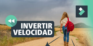 INVERTIR VELOCIDAD ⏪ o poner VIDEO MARCHA ATRAS en FILMORA | Curso Filmora
